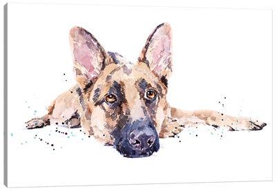 German Shepherd II Canvas Art Print