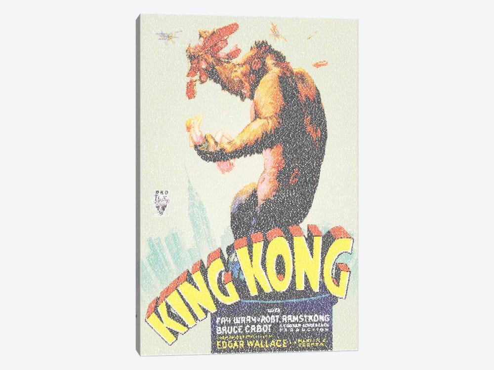 King Kong (U.S. Market Movie Poster) by Robotic Ewe 1-piece Canvas Print