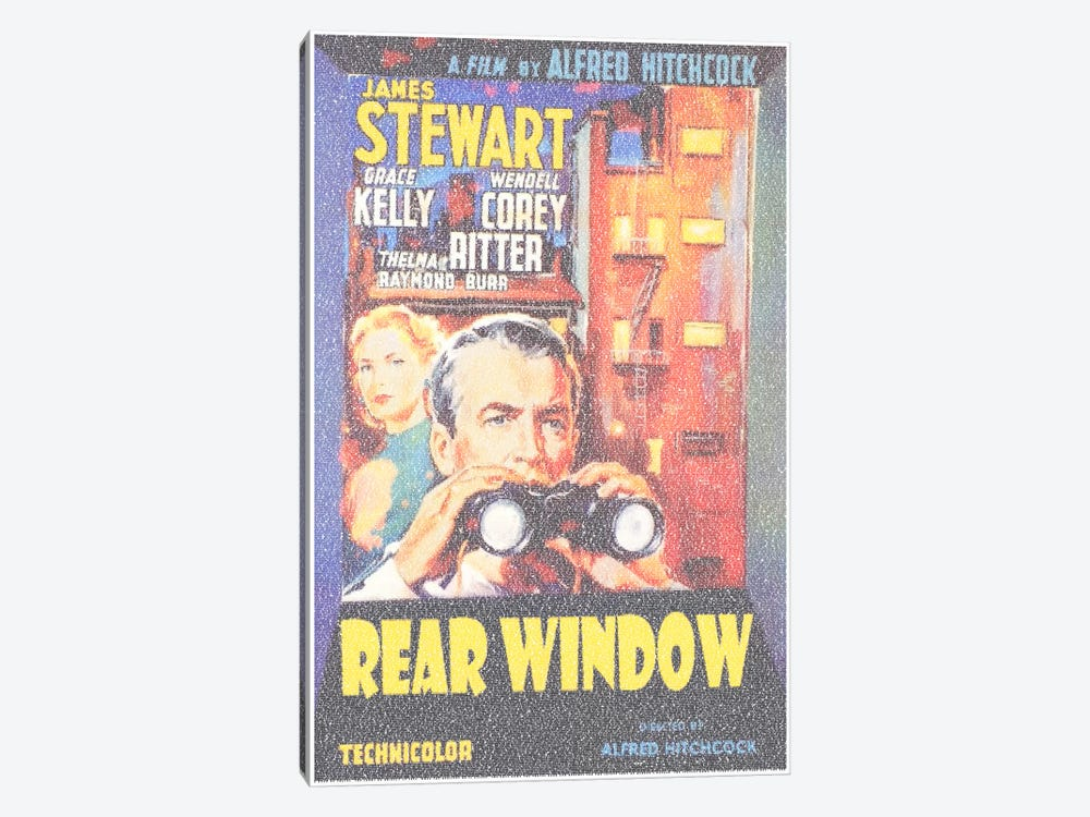 Rear Window by Robotic Ewe 1-piece Art Print