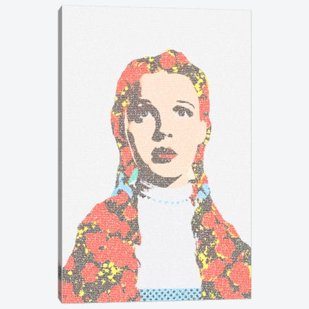 Wizard Of Oz Canvas Print #EWE15} by Robotic Ewe Canvas Art
