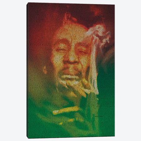 Marley Canvas Print #EWE16} by Robotic Ewe Canvas Art