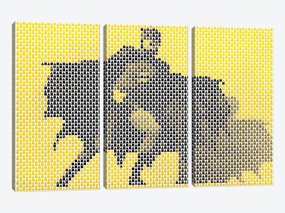 Na Na Na by Robotic Ewe 3-piece Canvas Wall Art