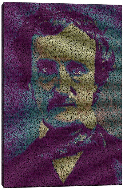 Poe - The Fall Of The House Of Usher Canvas Print #EWE19