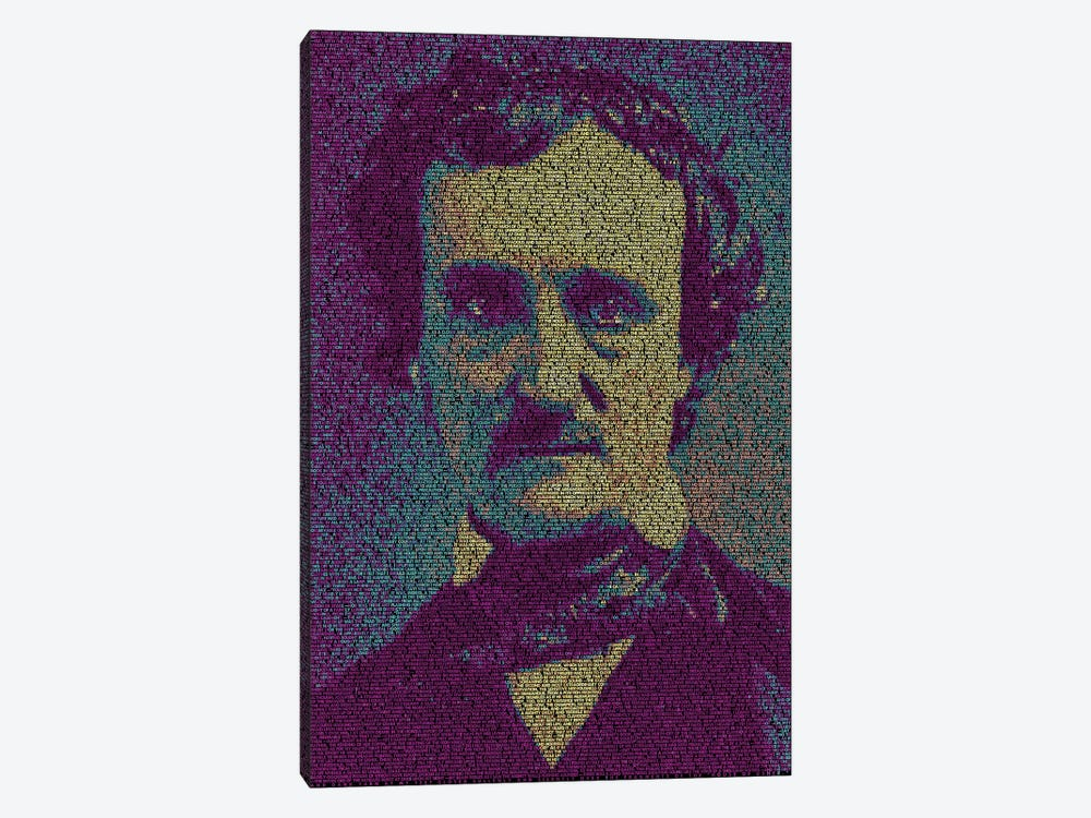 Poe - The Fall Of The House Of Usher by Robotic Ewe 1-piece Canvas Art