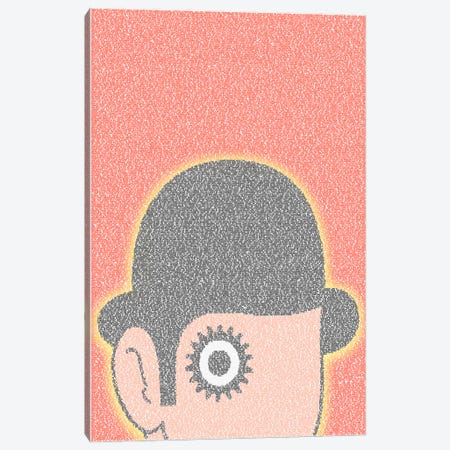 A Clockwork Orange Canvas Print #EWE1} by Robotic Ewe Art Print