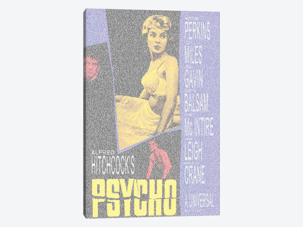 Psycho by Robotic Ewe 1-piece Canvas Artwork
