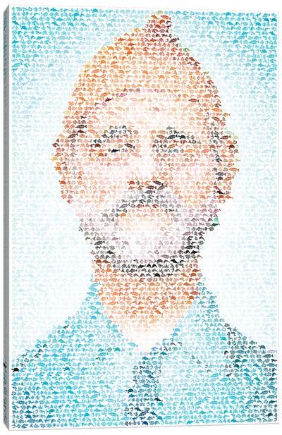 Steve Zissou Canvas Print #EWE24