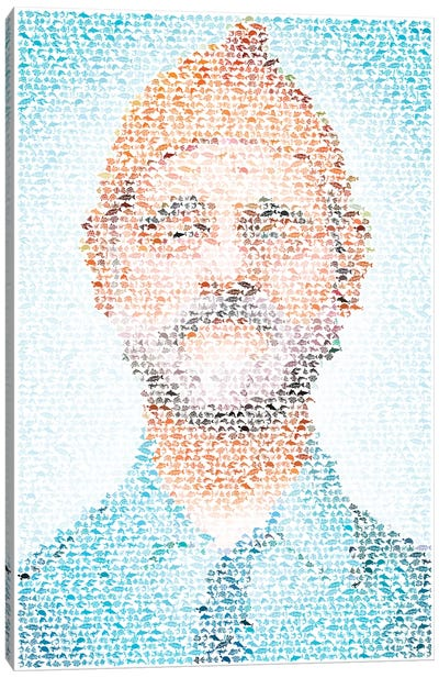 Steve Zissou Canvas Art Print