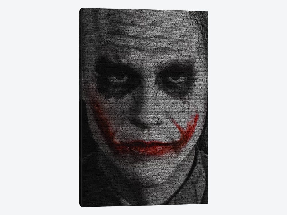 The Joker by Robotic Ewe 1-piece Canvas Artwork