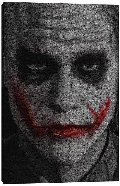 The Joker Canvas Art Print