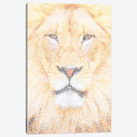 The King Canvas Print #EWE27} by Robotic Ewe Canvas Print