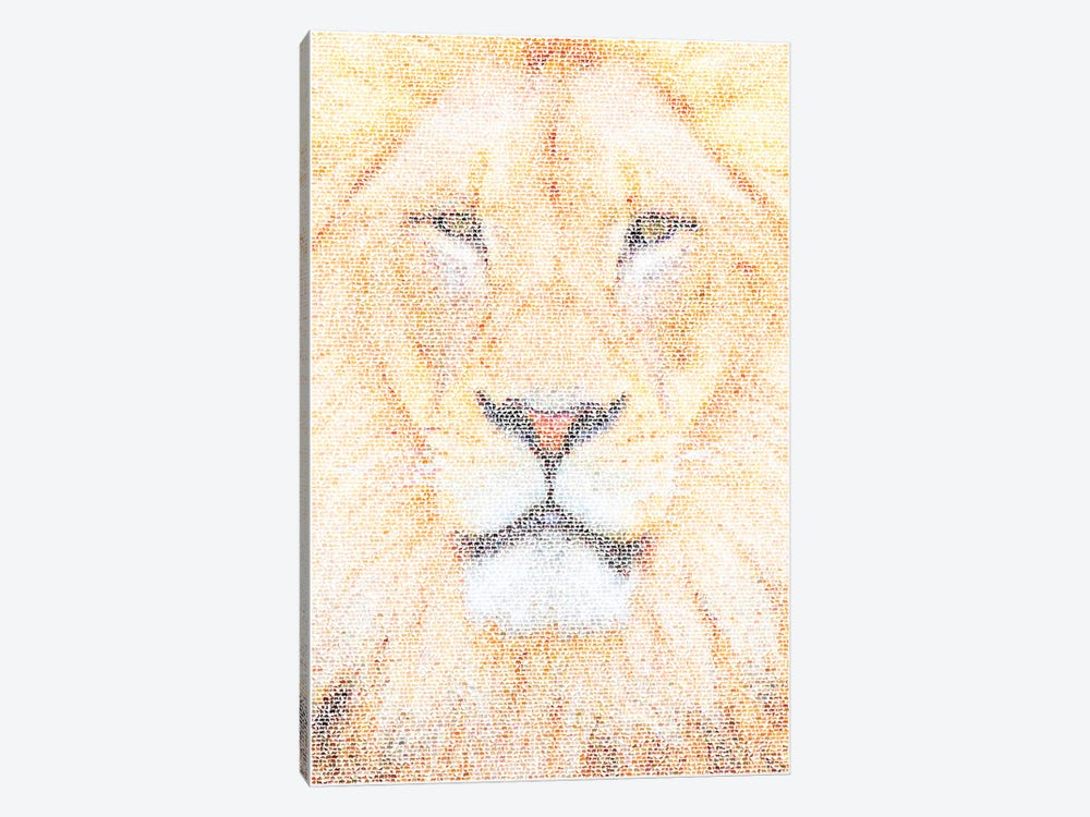 The King by Robotic Ewe 1-piece Canvas Art Print