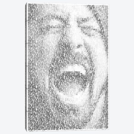 Grohl Canvas Print #EWE28} by Robotic Ewe Canvas Wall Art
