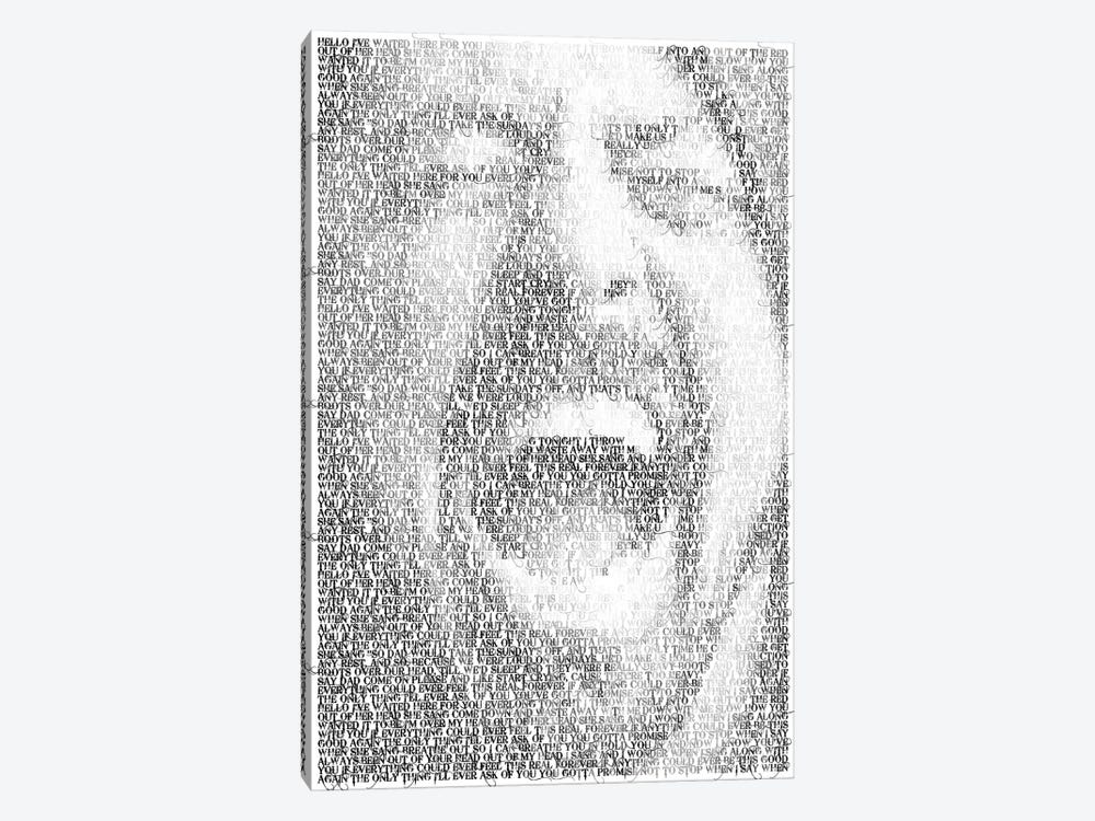 Grohl by Robotic Ewe 1-piece Canvas Art