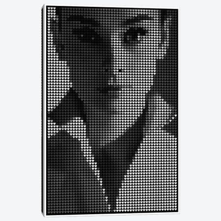 Hepburn Canvas Print #EWE29} by Robotic Ewe Canvas Art