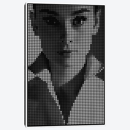 Hepburn Canvas Print #EWE29} by Robotic Ewe Canvas Art