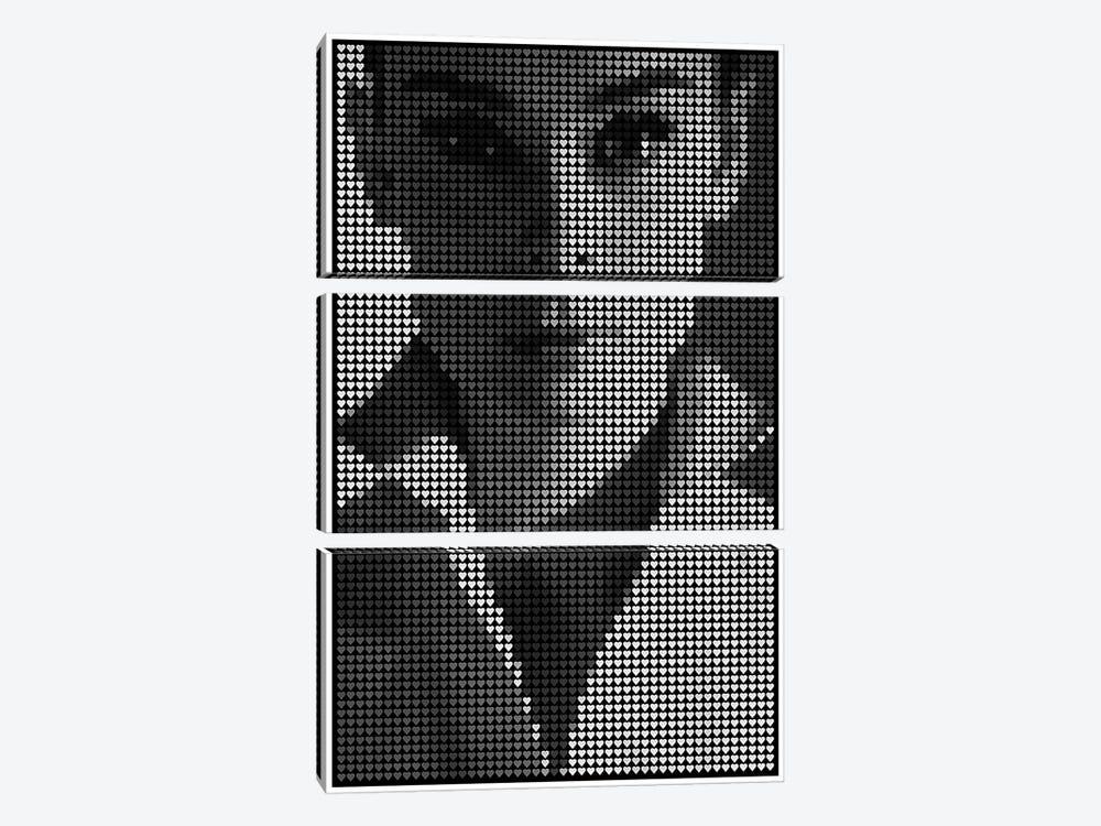 Hepburn by Robotic Ewe 3-piece Art Print