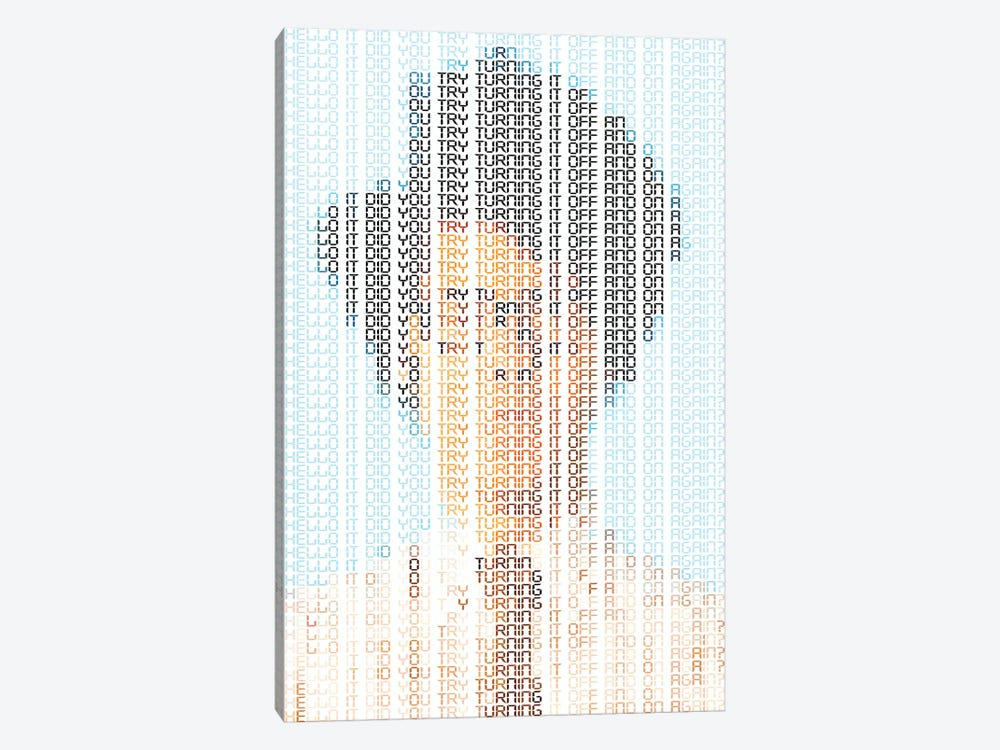 IT Crowd by Robotic Ewe 1-piece Canvas Art