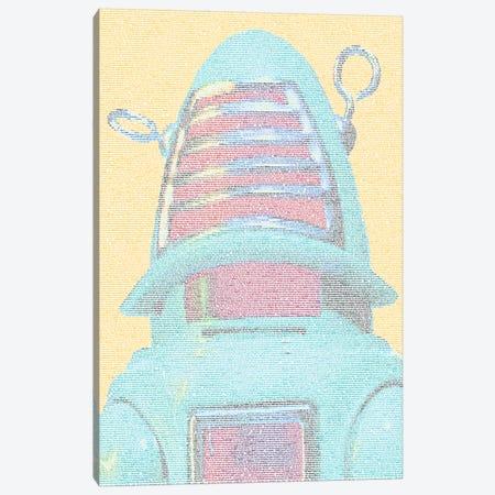 Rossum's Universal Robots Canvas Print #EWE32} by Robotic Ewe Art Print