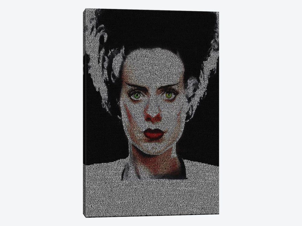 The Bride Of Frankenstein by Robotic Ewe 1-piece Canvas Artwork