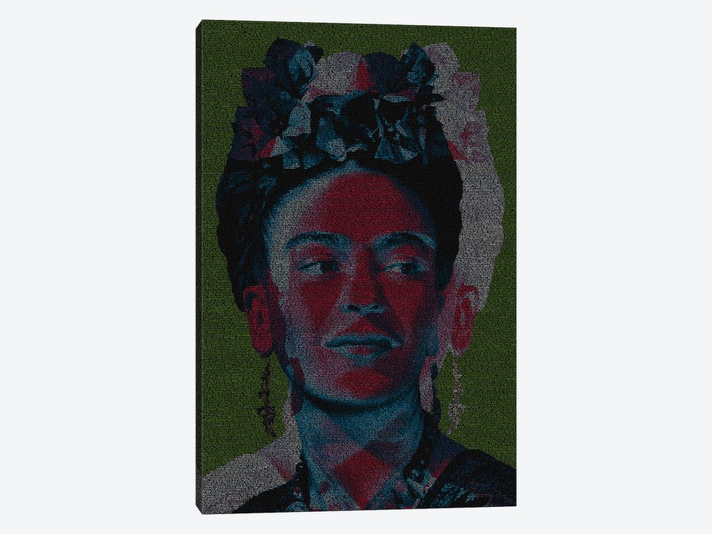 Frida by Robotic Ewe 1-piece Canvas Artwork