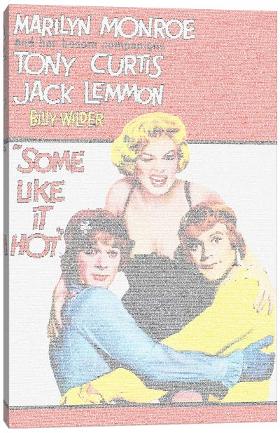 Some Like It Hot Canvas Art Print