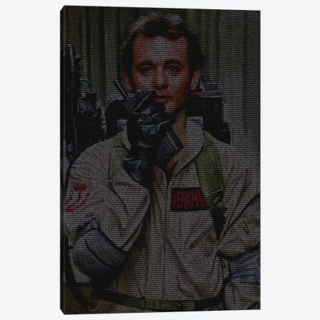Venkman Canvas Print #EWE42} by Robotic Ewe Canvas Art