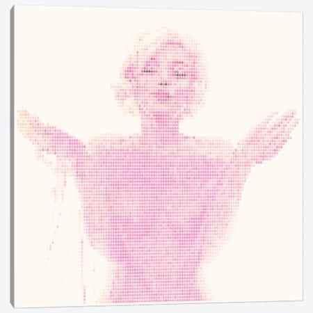 Cherry Bombshell Canvas Print #EWE5} by Robotic Ewe Canvas Wall Art
