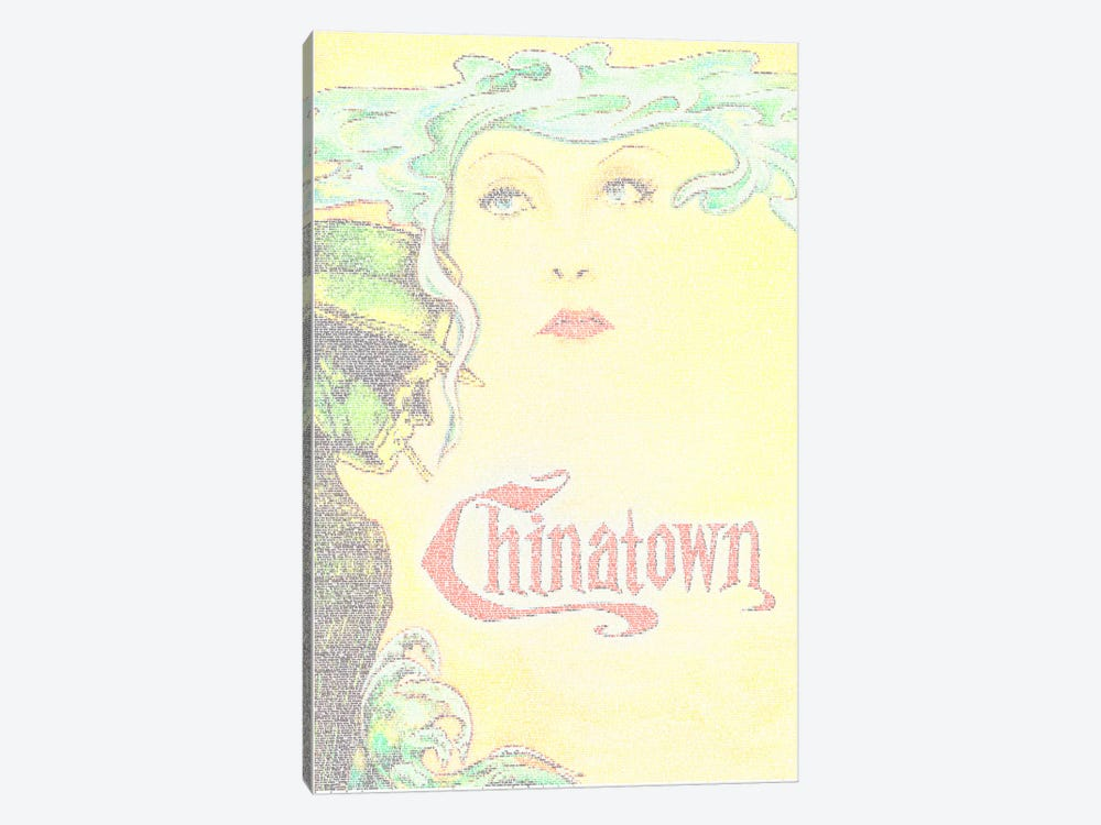 Chinatown by Robotic Ewe 1-piece Canvas Artwork