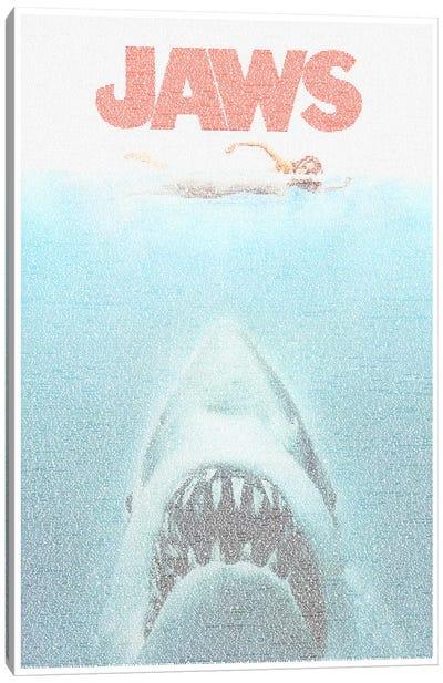 Jaws Canvas Print #EWE8
