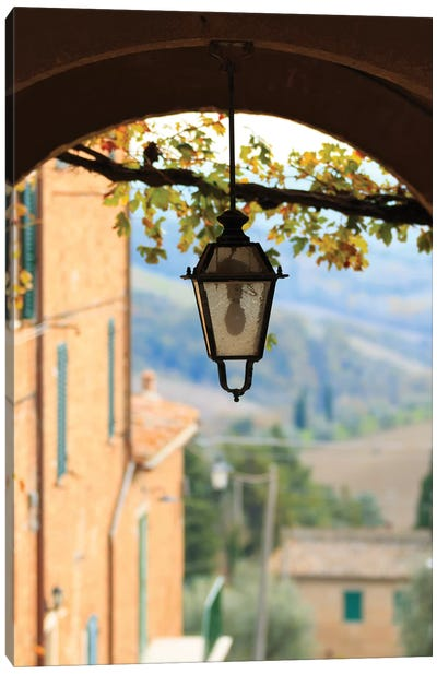 Italy, Tuscany, province of Siena, Chiusure. Hill town, center of the Crete sensei Canvas Art Print