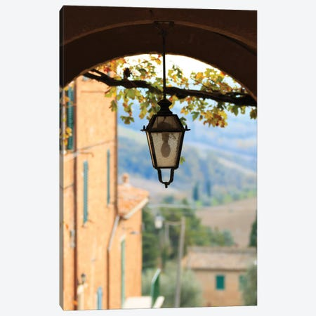 Italy, Tuscany, province of Siena, Chiusure. Hill town, center of the Crete sensei Canvas Print #EWI26} by Emily Wilson Canvas Print