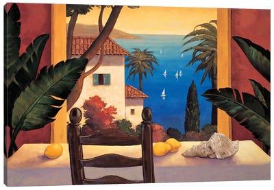 Ocean Breeze I Canvas Art Print