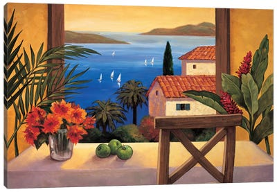 Ocean Breeze II Canvas Art Print