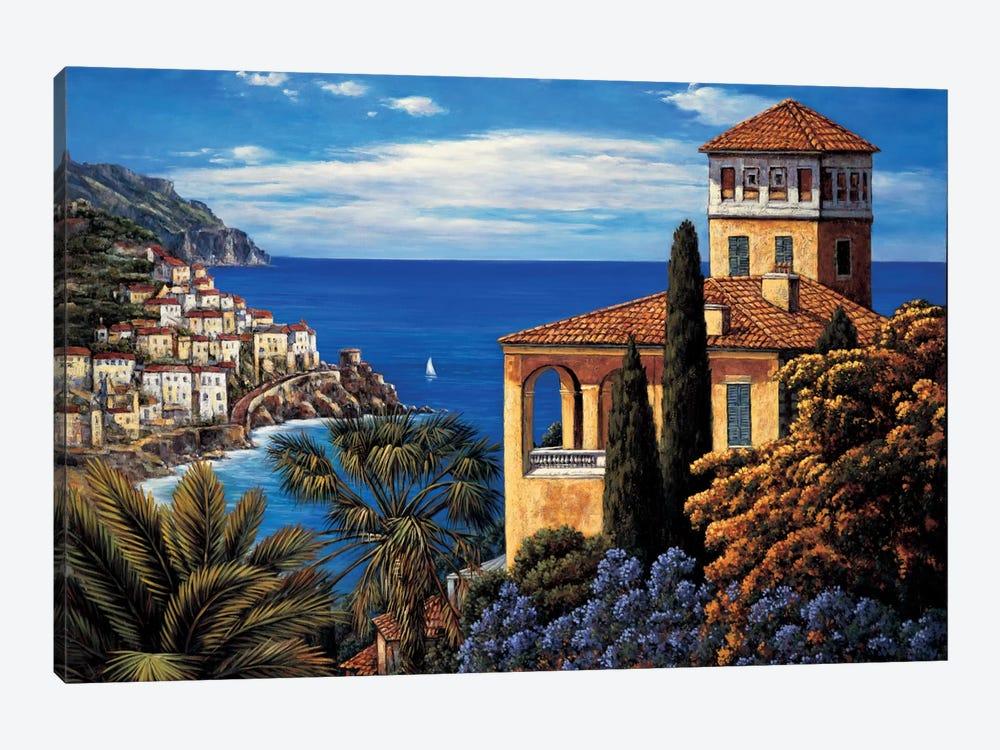 The Amalfi Coast by Elizabeth Wright 1-piece Canvas Wall Art