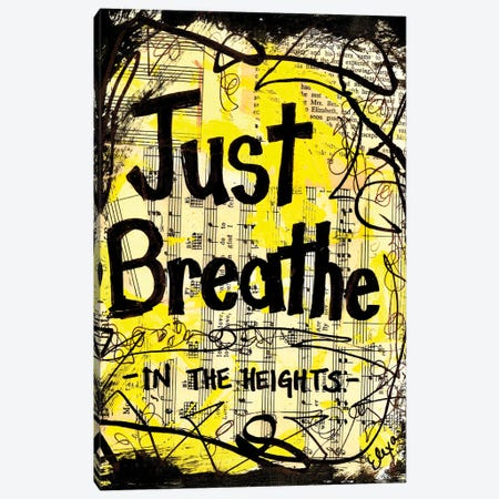 Breathe From In The Heights Canvas Print #EXB101} by Elexa Bancroft Canvas Art Print