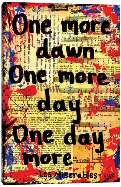 One More Dawn From Les Miserables Canvas Art Print