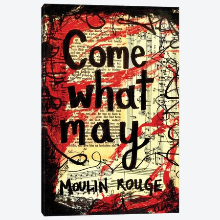 Come What May From Moulin Rouge Canvas Print #EXB106} by Elexa Bancroft Canvas Art