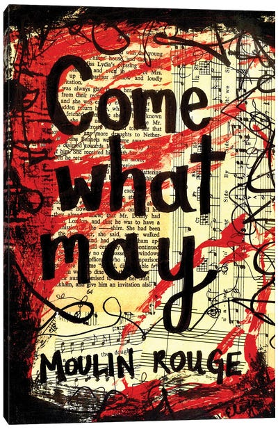 Come What May From Moulin Rouge Canvas Art Print
