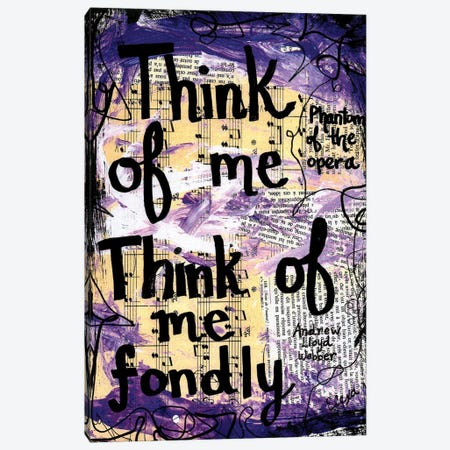 Think Of Me Phantom Canvas Print #EXB110} by Elexa Bancroft Canvas Art
