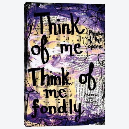 Think Of Me Phantom Canvas Print #EXB110} by Elexa Bancroft Canvas Art
