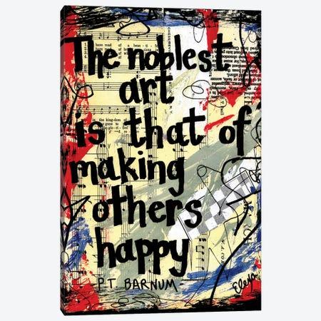 Noblest From The Greatest Showman Canvas Print #EXB116} by Elexa Bancroft Art Print