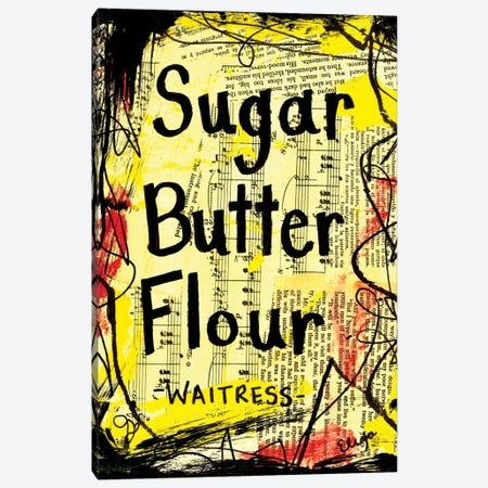 Sugar Butter Flour From Waitress Canvas Print #EXB121} by Elexa Bancroft Canvas Art Print