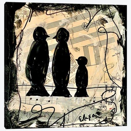 Three Songbirds Canvas Print #EXB21} by Elexa Bancroft Canvas Print