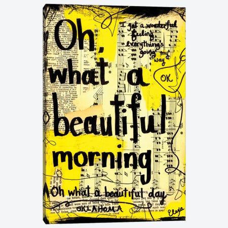 Beautiful Morning From Oklahoma Canvas Print #EXB24} by Elexa Bancroft Canvas Wall Art