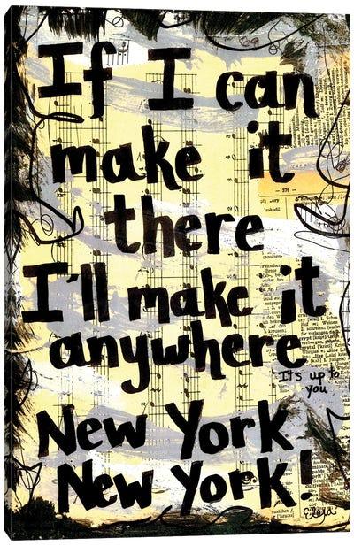 New York New York Canvas Art Print