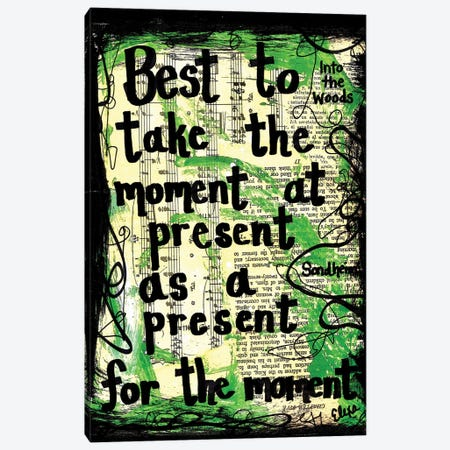 Moment At Present From Into The Woods Canvas Print #EXB3} by Elexa Bancroft Canvas Art Print