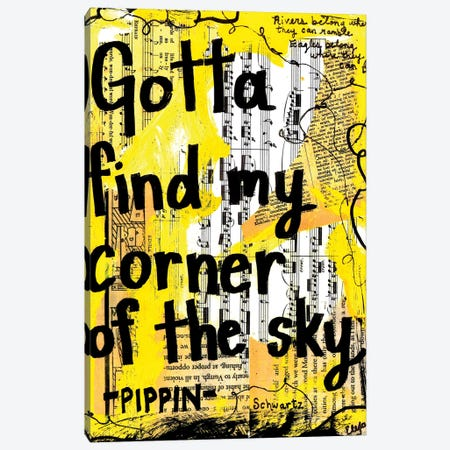 Corner Of The Sky Pippin Canvas Print #EXB42} by Elexa Bancroft Canvas Art Print