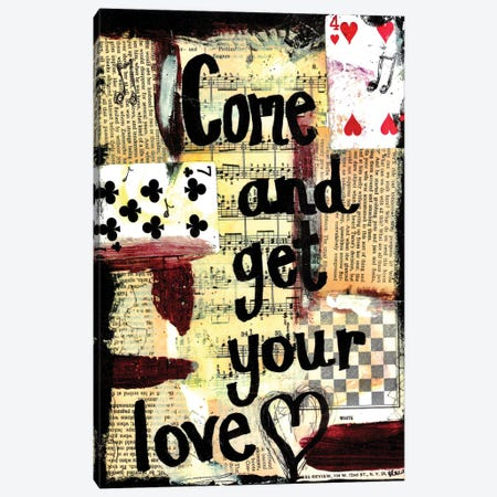 Come And Get Your Love Canvas Print #EXB47} by Elexa Bancroft Canvas Artwork