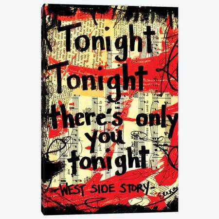 Tonight West Side Story Canvas Print #EXB48} by Elexa Bancroft Canvas Art Print
